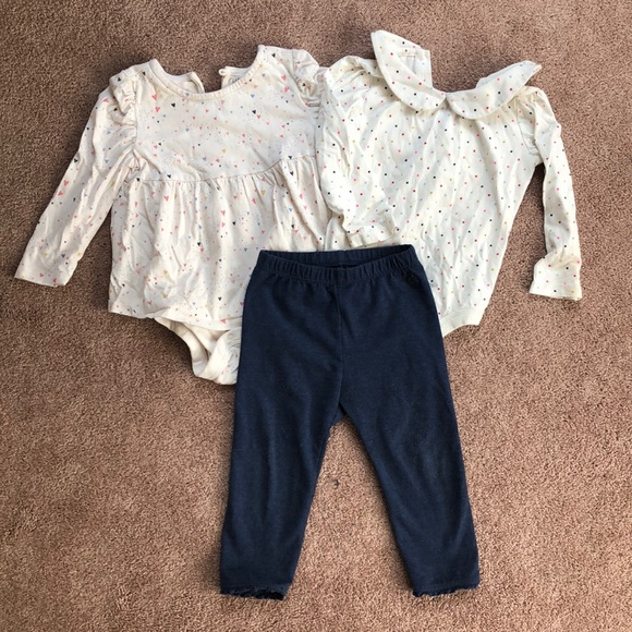 GAP Other - Baby Gap 3 onesies and pants